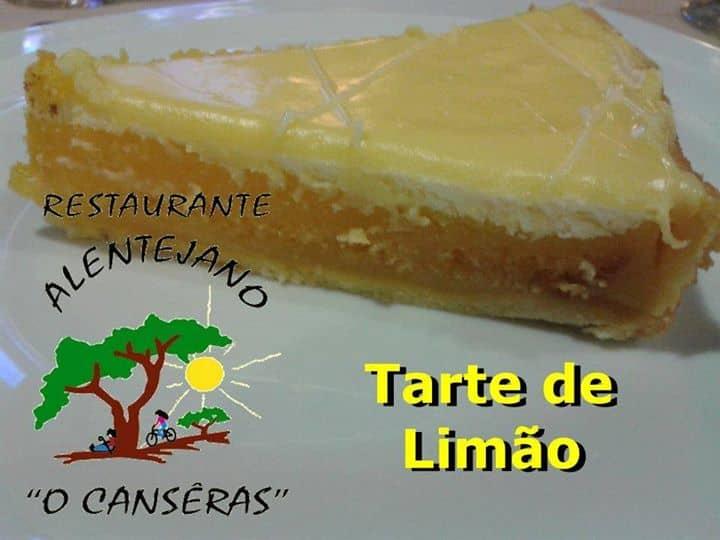 TARTE DE LIMÃO À MODA DO CHEFE ALENTEJANO