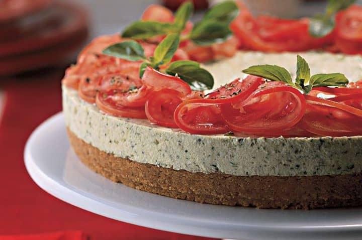 Torta de biscoito com ricota