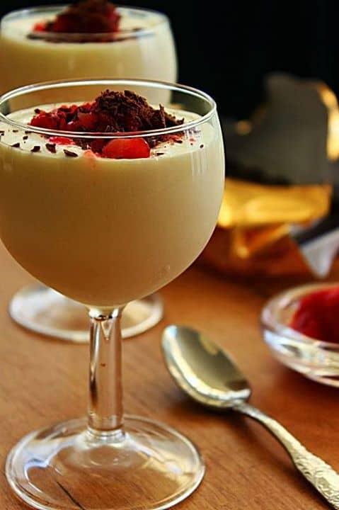 Mousse de Chocolate Branco