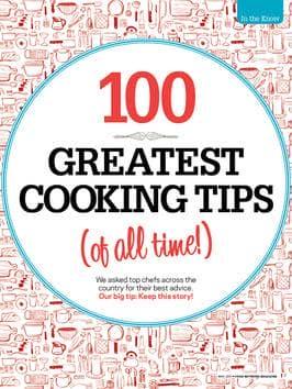 dicas secretas dos melhores Chefs