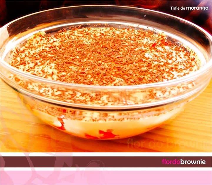 Trifle de morango
