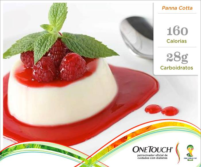 Ingredientes para a Panna Cotta: