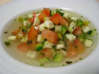 Sopa Fria para o hemisfério sul