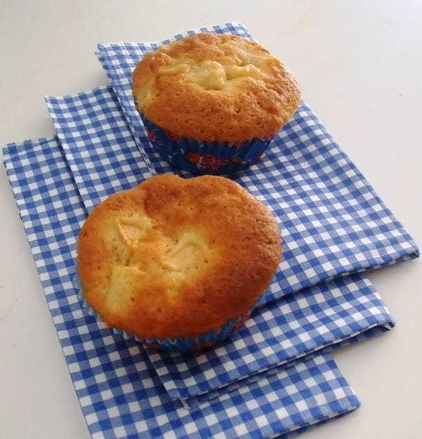 Muffins de Maçã e Gengibre