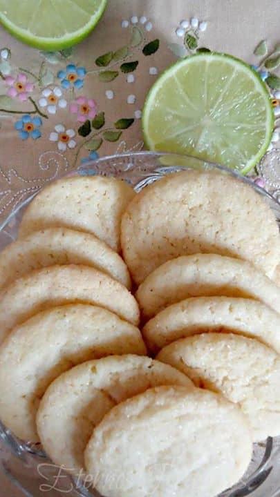 Cookies de Limão e Coco