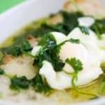 A Açorda à Alentejana é uma sopa típica do Alentejo