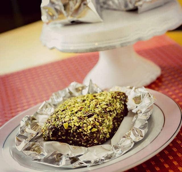 Bolo Gelado De Chocolate Com Pistache