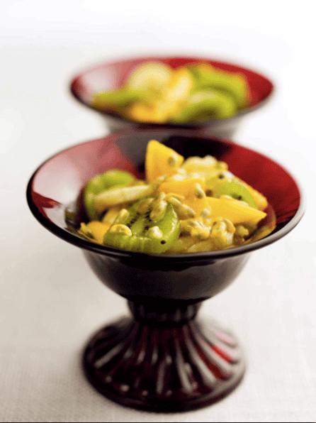 Salada de fruta tropica
