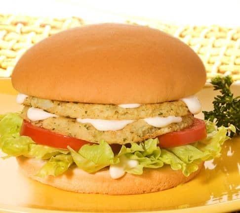 Hambúrguer de Couve-Flor