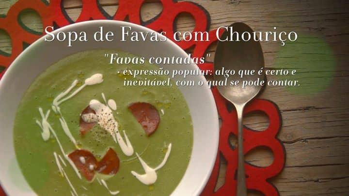 SOPA DE FAVAS C/ CHOURIÇO