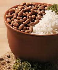 Feijão e arroz fazem o peso despencar