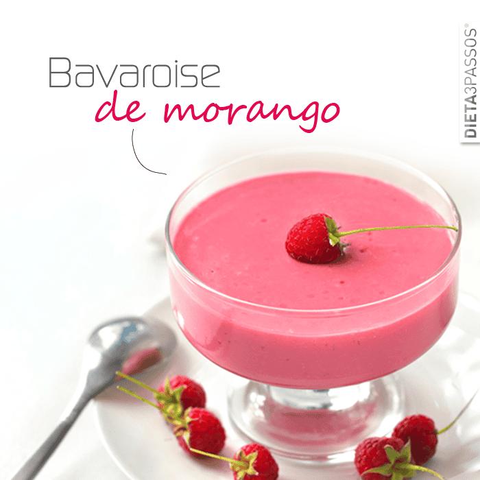 Bavaroise de Morango