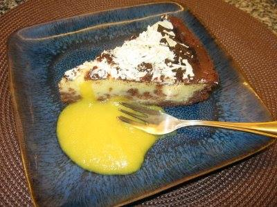 CHEESECAKE COM CHOCOLATE BRANCO