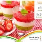 Selecionamos para você uma deliciosa sobremesa de frutas! Surpresa Tricolore.