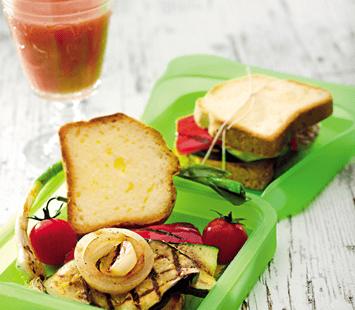 Sanduiche de Legumes