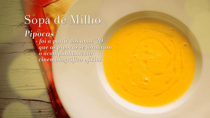 SOPA DE MILHO