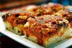 Pizza Caseira de Sardinha