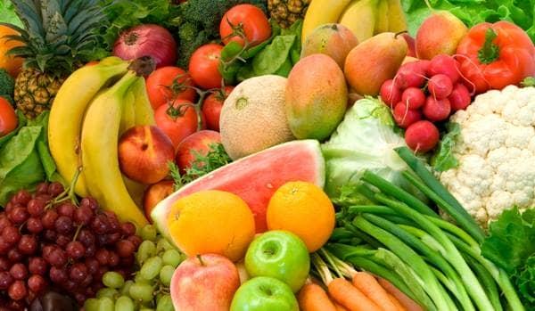 A alimentação e a pele
