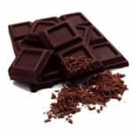 O benéfico chocolate negro