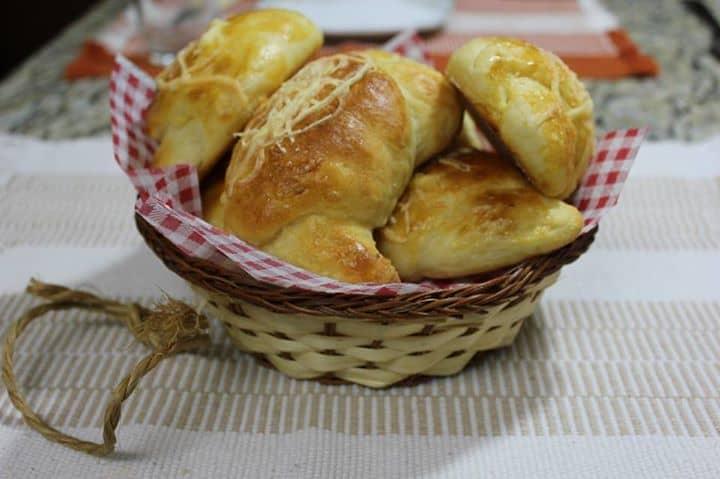 Pão de Mandioca com Requeijão