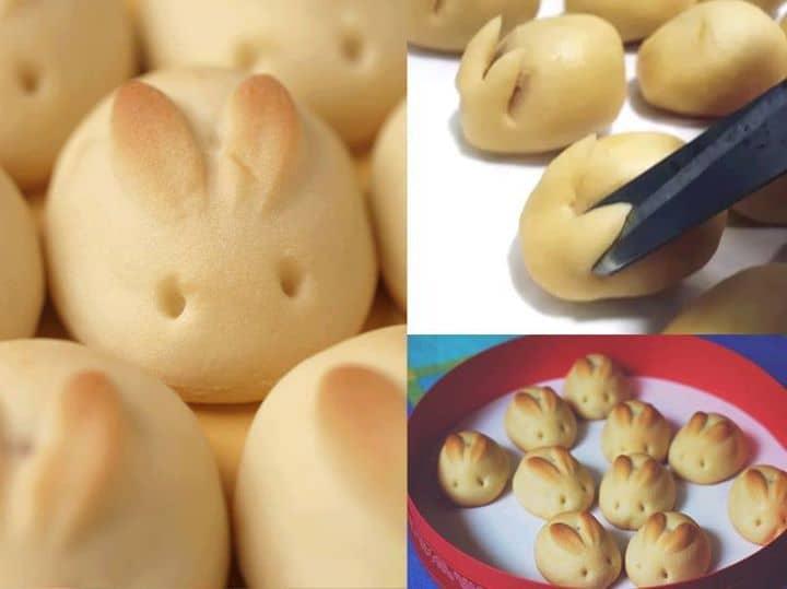Que tal ser criativo na Páscoa? Pãezinhos de cenoura em formato de coelhinhos