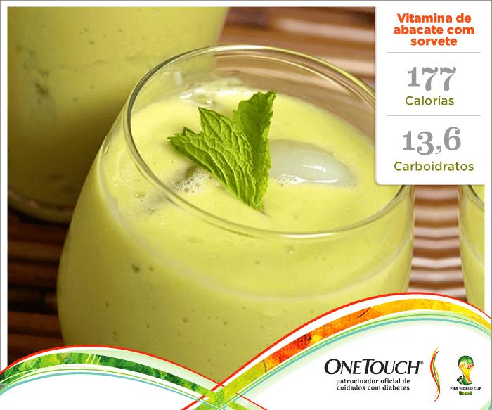 Você gosta de abacate? Aqui lhe trouxemos uma receita muito refrescante: Vitamina de abacate com sorvete.