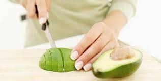atê de abacate com azeitona