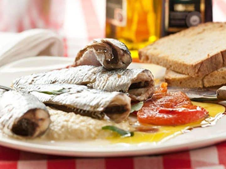 Sardinhas no Forno com Tomate