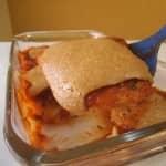 Bife De Soja a Parmigiana com Queijo de Castanha