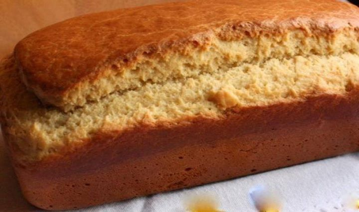 Pão de arroz sem leite e sem farinha de trigo