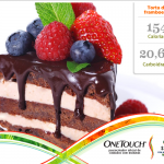 Uma receita para as pessoas que gostam de sobremesa com fruta: Torta de framboesa.