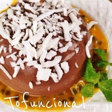 PUDIM DE CHOCOLATE FUNCIONAL