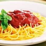 Espaguete ao molho falsê