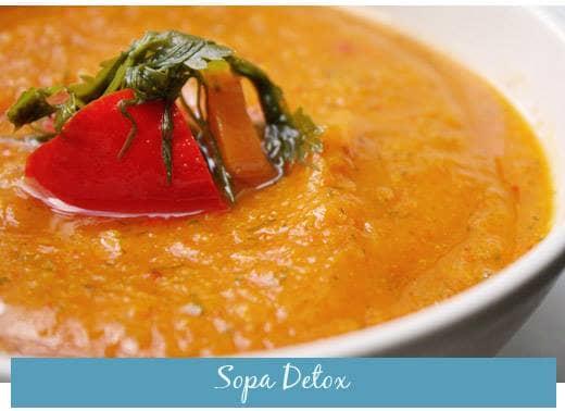Receitas Detox: Sopa