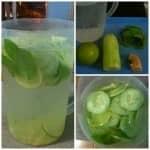 O gengibre, o limão e o pepino são os componentes da receita que garantem a redução de peso e do abdome em poucos dias.