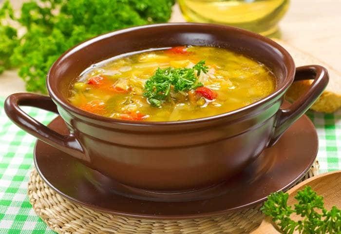 Sopa Emagrecedora de Frango, Cenoura e Gengibre