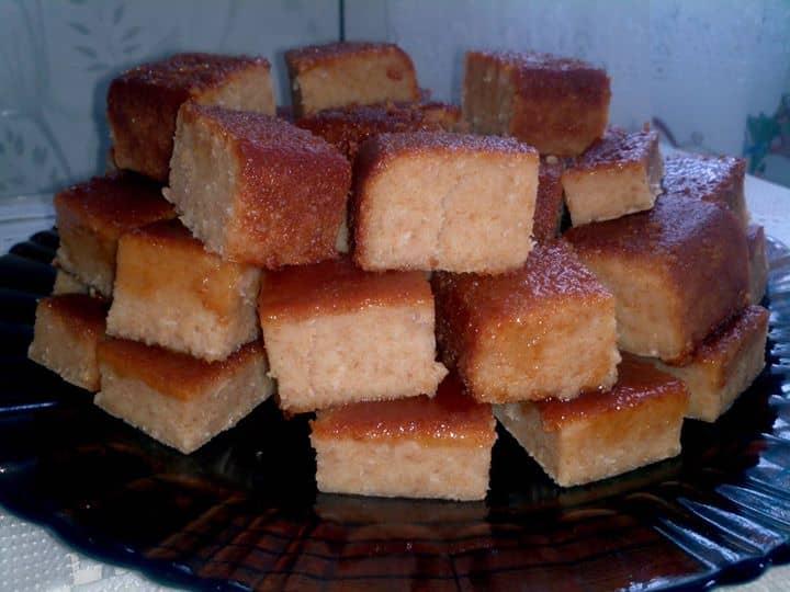 Pudim de pão de forma