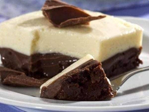 Torta gelada de chocolate (com biscoito Negresco)