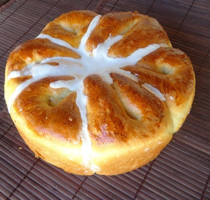 Pão Doce Baunilhado