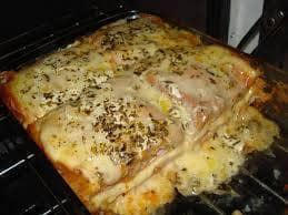 Sanduiche Cremoso de forno