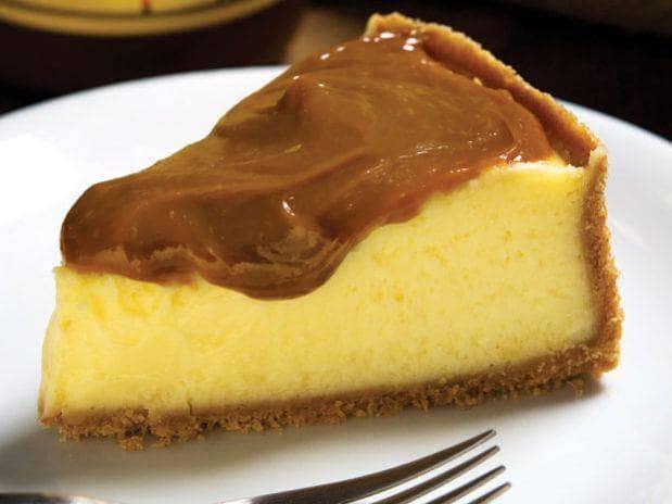 Torta de maracujá com ganache
