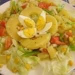 Salada Mista com Abacaxi