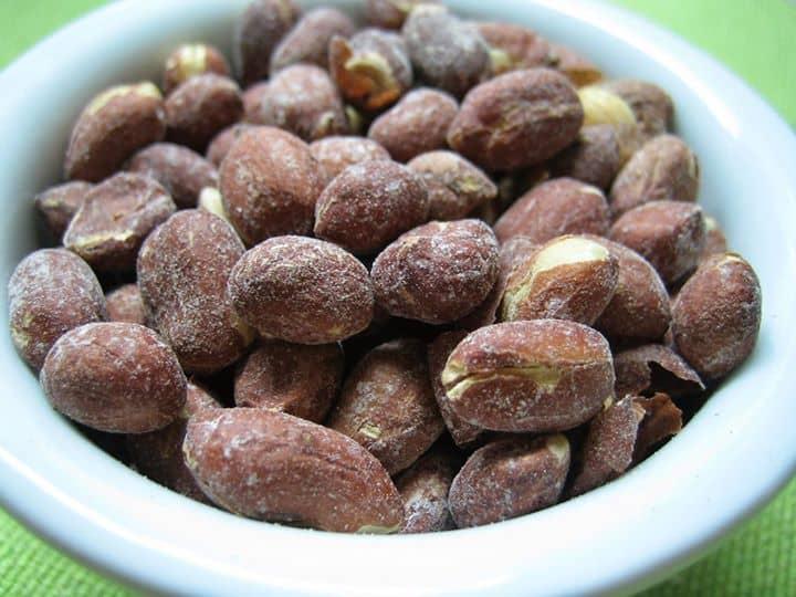 Amendoim Salgado (de micro-ondas)