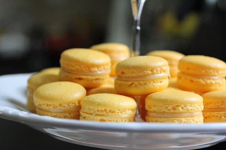 Macarons de Limão Siciliano