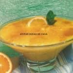 DOCE DE OVOS (com laranja e canela)