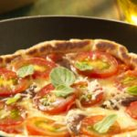 Pizza de Aveia Deliciosa