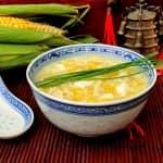 Sopa Chinesa de Milho e Frango