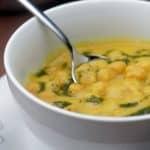 Sopa de Grão-de-Bico Portuguesa