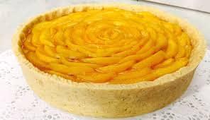 Torta Rápida de Pêssego