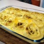Rondele de bacalhau ao 4 queijos